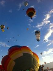 Albuquerque Balloon Fiesta- visit www.beautifulfillment.com for more inspirations!