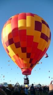 Albuquerque Balloon Fiesta Bananas 2- visit www.beautifulfillment.com for more inspirations!
