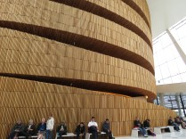 Inside Oslo's Ballet and Opera House - Oslo, Norway - by Anika Mikkelson - Miss Maps