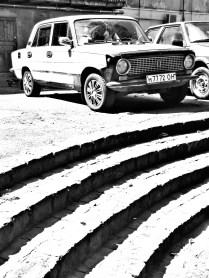 Classic Car 3 Lviv Ukraine by Anika Mikkelson - www.MissMaps.com