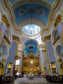 Interior of Church of the Transfiguration - Lviv by Anika Mikkelson - www.MissMaps.com