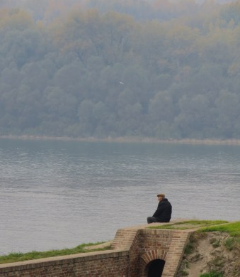 Contemplation on the Danube - Belgrade, Serbia - by Anika Mikkelson - Miss Maps