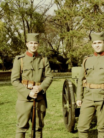 Military Reenactment - Nis, Serbia - by Anika Mikkelson - Miss Maps