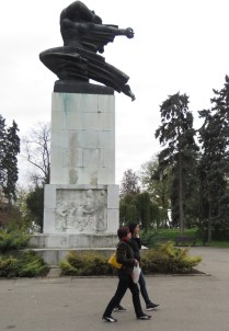Monument of Gratitude to France at Kalemegdan Walk - Belgrade serbia