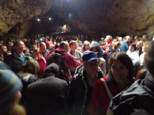 Audience Members Within Pestera Romanesti - Timis, Romania' s Cave Concert by Anika Mikkelson www.MissMaps.com