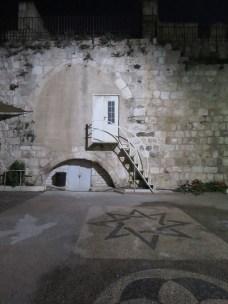 Old City Jerusalem Wall at night - by Anika Mikkelson - Miss Maps - www.MissMaps.com