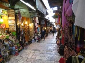 Old City Jerusalem's Muslim Quarter - by Anika Mikkelson - Miss Maps - www.MissMaps.com