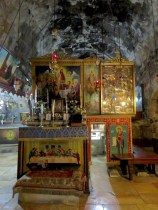 Within Church of the Sepulchre of Saint Mary in Jerusalem - by Anika Mikkelson - Miss Maps - www.MissMaps.com