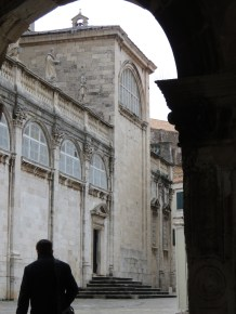 Arches of Old Town Dubrovnik - by Anika Mikkelson - Miss Maps - www.MissMaps.com