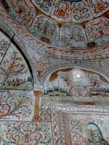 Inside Et'hem Bay Mosque Downtown Tirana Albania - by Anika Mikkelson - Miss Maps - www.MissMaps.com