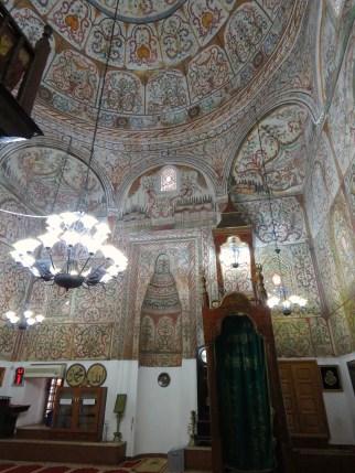 Inside Et'hem Bey Mosque of Downtown Tirana Albania - by Anika Mikkelson - Miss Maps - www.MissMaps.com
