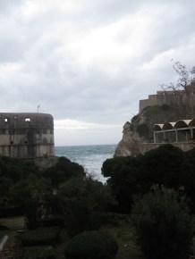 The Adriatic Sea from Old Town Dubrovnik Croatia - by Anika Mikkelson - Miss Maps - www.MissMaps.com