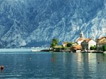 Small Village on the bay Near Kotor Montenegro - by Anika Mikkelson - Miss Maps - www.MissMaps.com