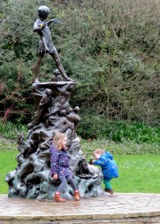 Playing with Peter Pan - London, England, United Kingdom - by Anika Mikkelson - Miss Maps