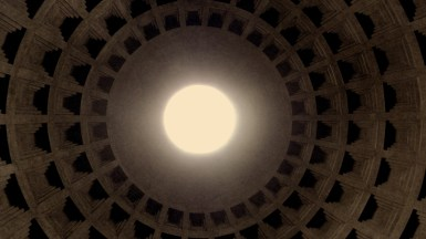 Inside the Pantheon in Rome Italy - by Anika Mikkelson - Miss Maps - www.MissMaps.com