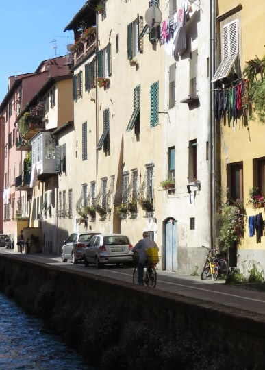 On a river ride - Lucca Italy - by Anika Mikkelson - Miss Maps - www.MissMaps.com