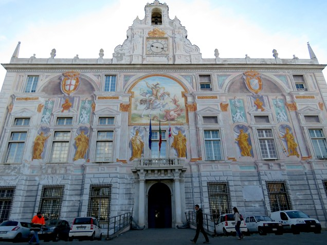 Palace of Saint George - Genoa, Italy - by Anika Mikkelson - Miss Maps - www.MissMaps.com