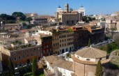 Rome from Above - Rome Italy - by Anika Mikkelson - Miss Maps - www.MissMaps.com