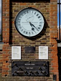 Shepherd Gate Clock at the Royal Greenwich Observatory displays Greenwich Mean Time - by Anika Mikkelson - Miss Maps