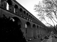 The Aqueduct of Montpellier France - by Anika Mikkelson - Miss Maps - www.MissMaps.com
