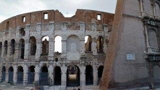 The Colosseum in Rome Italy - by Anika Mikkelson - Miss Maps - www.MissMaps.com