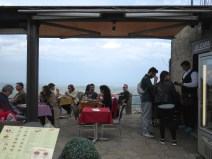 A meal with a view - San Marino - by Anika Mikkelson - Miss Maps - www.MissMaps.com