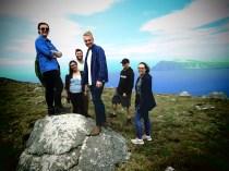Band Cover : Tour Mates - Ireland - by Anika Mikkelson - Miss Maps - www.MissMaps.com