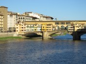 Ponte Vecchio of Florence Italy - by Anika Mikkelson - Miss Maps - www.MissMaps.com