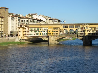 Ponte Vecchio of Florence Italy - by Anika Mikkelson - Miss Maps - www.MissMaps.com