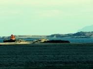 Retro Lighthouse - Iceland - by Anika Mikkelson - Miss Maps - www.MissMaps.com