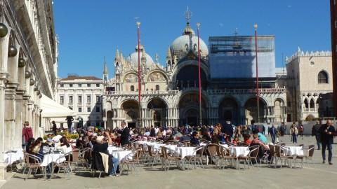 St. Mark's Square - Venice Italy - by Anika Mikkelson - Miss Maps - www.MissMaps.com