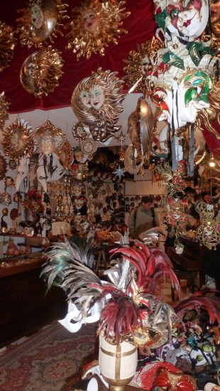 Venitian Masks - Venice Italy - by Anika Mikkelson - Miss Maps - www.MissMaps.com