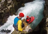 Ready to make the jump into Rakitnica River - Bosnia and Herzegovina BiH - photo by VisitKonjic.com
