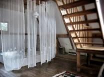 The lovely main bedroom in our lodge - Herzegovina Lodges - Bosnia and Herzegovina BiH - by Anika Mikkelson - Miss Maps - www.MissMaps.com