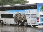 Belarus Bus - National Park Belovezhskaya Pushcha - by Anika Mikkelson - Miss Maps - www.MissMaps.com