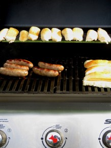Brats and Buns on the Grill - by Anika Mikkelson - Miss Maps - www.MissMaps.com