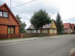Homes of Bialowieza Poland - National Park Belovezhskaya Pushcha - by Anika Mikkelson - Miss Maps - www.MissMaps.com