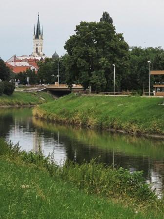 Nitra's River - Nitra Slovakia - by Anika Mikkelson - Miss Maps - www.MissMaps.com