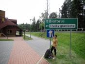 On the Belarus Poland Border - by Anika Mikkelson - Miss Maps - www.MissMaps.com