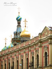Church on Spilled Blood - St Petersburg Russia - by Anika Mikkelson - Miss Maps - www.MissMaps.com