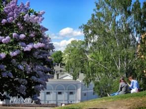 Hilltop Relaxation near Uspenski Cathedral - Helsinki Finland - by Anika Mikkelson - Miss Maps - www.MissMaps.com