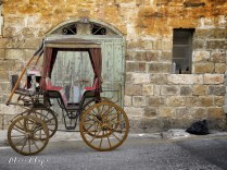 Horse Carriage Found in the midst of a neighborhood - Malta - by Anika Mikkelson - Miss Maps - www.MissMaps.com
