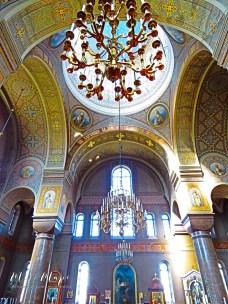 Inside Uspenski Cathedral - Helsinki Finland - by Anika Mikkelson - Miss Maps - www.MissMaps.com