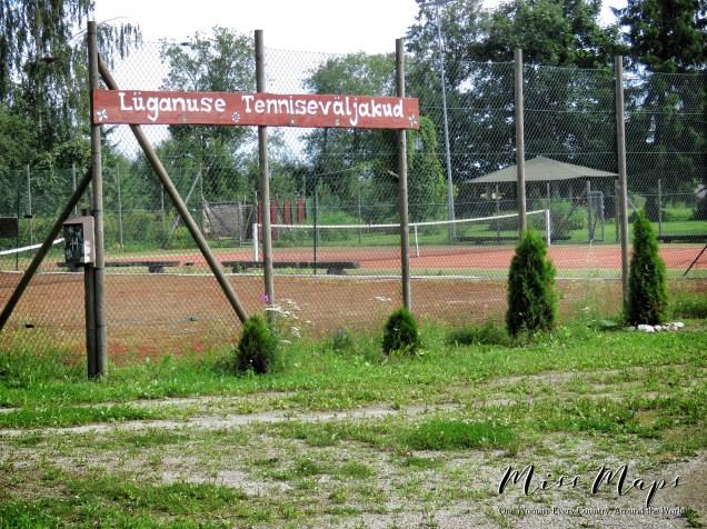 Look for the Tennis Court - Luganuse Tennisevaljakud - Northern Estonia - by Anika Mikkelson - Miss Maps - www.MissMaps.com