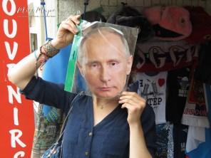 Putin Selfie - St Petersburg Russia - by Anika Mikkelson - Miss Maps - www.MissMaps.com