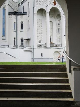 The Entrance to St Roch's Church - Bialystok Poland - by Anika Mikkelson - Miss Maps - www.MissMaps.com