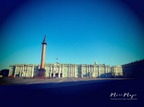 The Winter Palace of St Petersburg Russia -by Anika Mikkelson - Miss Maps - www.MissMaps.com