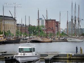 Time to Sail Away - Helsinki Finland - by Anika Mikkelson - Miss Maps - www.MissMaps.com
