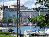 View of the Harbour - Helsinki Finland - by Anika Mikkelson - Miss Maps - www.MissMaps.com