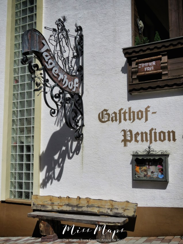 Gasthof Pension - The Road to Liechtenstein - by Anika Mikkelson - Miss Maps - www.MissMaps.com